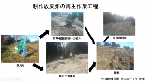 放棄畑の再生手順
