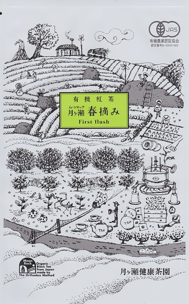 有機紅茶 月ヶ瀬春摘み